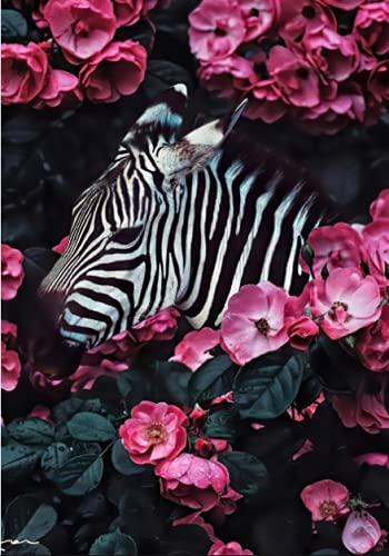 H/A Estilo Nórdico Creativo Lindo Animal Tigre Cartel Sofá Sala De Estar Moderno Minimalista Decoración De Pared Pintura Core B419 50X70Cm