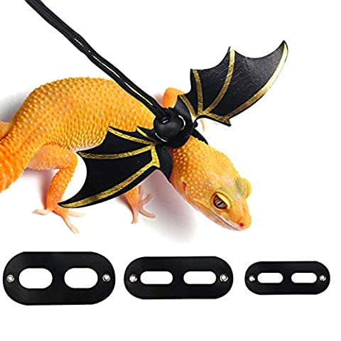 Leopard Gecko Leash with Wings