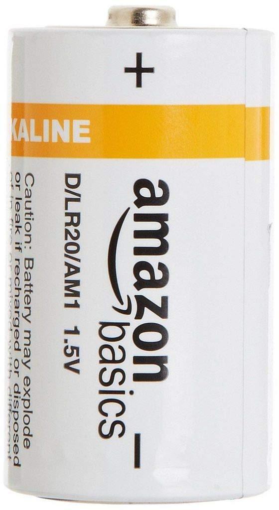 AmazonBasics Everyday Alkaline Batteries 24 Pack