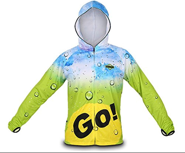 ShopSquare64 SEAKNIGHT SK003 Angeln Bekleidung Langarm Breathable Anti-UV Sun Jacke