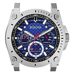Bulova C9889 Precisionist II Wall Clock, Matte Silver-Tone
