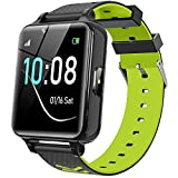 Kids Smart Watch for Boys Girls - Kids Smart Watch Phone with Calls Games Alarm Music Player Camera SOS Calculator Calendar Children Toys Birthday Gifts for 4-12 Years Students (Green)
