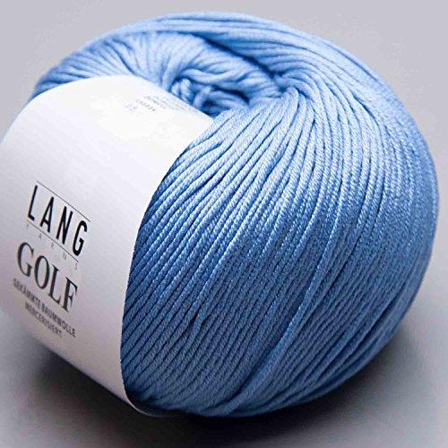 Lang Yarns Golf 0121 himmelblau