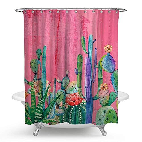 Pink Elephant en sky Coloré Etroit Rideau de douche