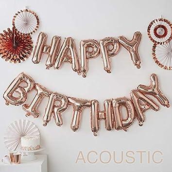 Happy Birthday Acoustic