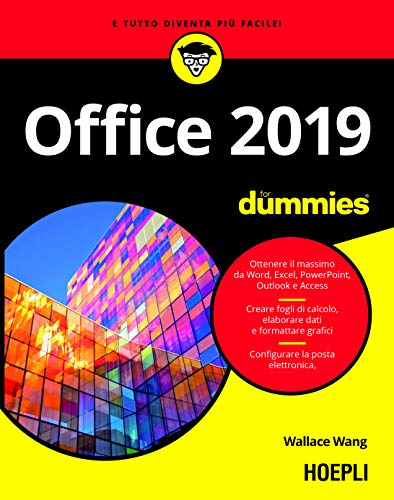 Office 2019 For Dummies. Word, Excel, Power Point, Outlook, Access