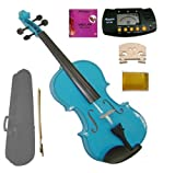 Best Grace Full Size Violins - GRACE 4/4 Full Size Acoustic Blue Violin Review