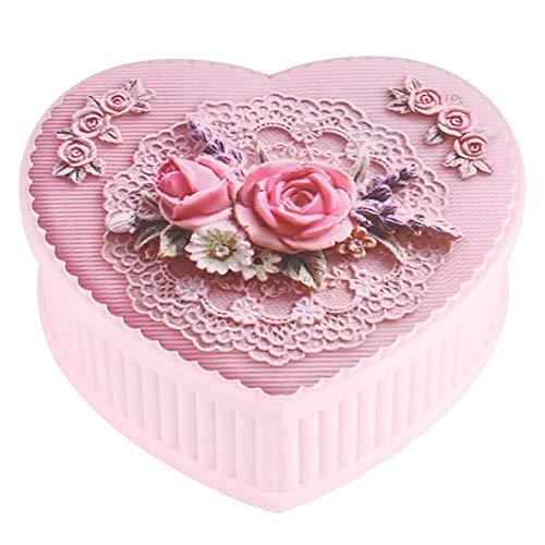Muziekdoosjes Mooie Rotating Ballerina Music Box Jewelry Storage box verjaardagscadeau for meisjes