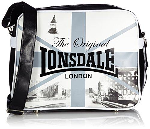 Lonsdale London Umhängetasche Big Ben Schwarz (Schwarz/Weiss) 111102-1500-0