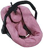 Bayer Chic 2000 708 70 - Silla de coche para muñecas de bebé, color rosa