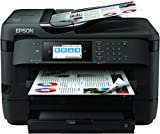 Epson Workforce WF-7720DTWF Stampante Multifunzione con Amazon Dash Replenishment Ready, Nero