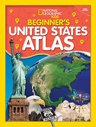 Compare Textbook Prices for Beginner's U.S. Atlas 2020 3 Edition ISBN 9781426338250 by National Geographic Kids