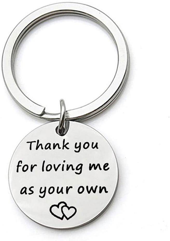 CH Round Shaped Keyring Letter Keychain Fashion Chic Bag Purse Pendant,Silver
