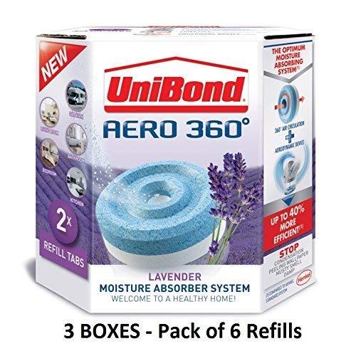 UniBond Aero 360 Lavender Refill, 450 g