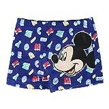 Disney Mickey Mouse Baby Jungen Badeshorts, Kinder Badekostüme, Kinder Badebekleidung, Schnelltrocknende, Atmungsaktive, Strand Pool Urlaub, Kleiner Junge Badeanzug, 12 Monate