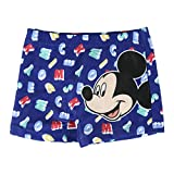 Disney Mickey Mouse Bañador para Bebés, Boxers, Natacion, Slips, Vacaciones Piscina Playa, Shorts de Baño para Niños, Secado Rápido y Transpirables, 6 a 36 Meses (6 Meses)