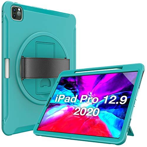 ProCase Funda Rugerizada para iPad Pro 12.9' 2020 2018 [Apoya...