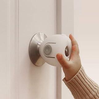 EUDEMON 6 Pack Baby Safety Door Knob Covers Door Knob Locks