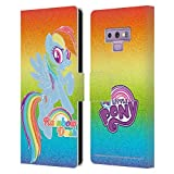 Head Case Designs Officially Licensed My Little Pony Rainbow Dash Rainbow Vibes Leather Book Wallet Case Cover Compatible with Samsung Galaxy Note9 / Note 9