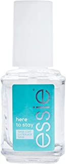 essie Here to Stay, Nail Polish Base Coat, Clear, 13.5 ml