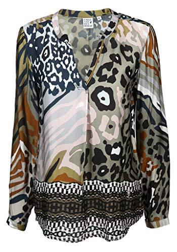 Emily van den Bergh Damen Bluse Größe 42 EU Mehrfarbig (bunt)