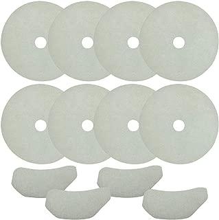 Cloth Dryer Filter for Sonya, Panda, Avanti, Magic Chef Dryers, 8 Exhaust Filters & 2 Air Intake Filters