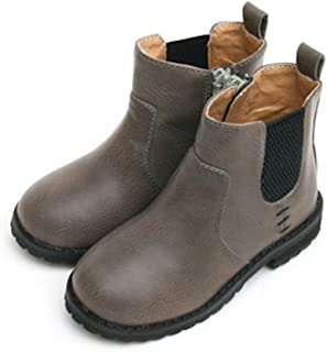 GUTE BOTE Girls Ankle Winter Boots –Stylish Snow Half Fashion Boots Shoes for Toddler Children Kids