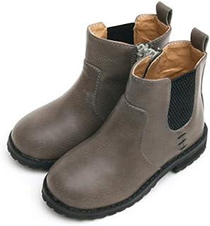 حذاء شتوي للكاحل للفتيات من GUTE BOTE - حذاء أنيق وعصري وعصري برقبة للأطفال الصغار