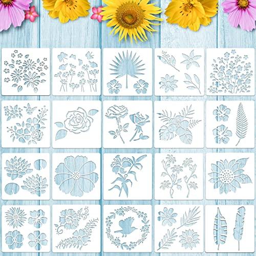 Zonon -  20 Stücke Blumen