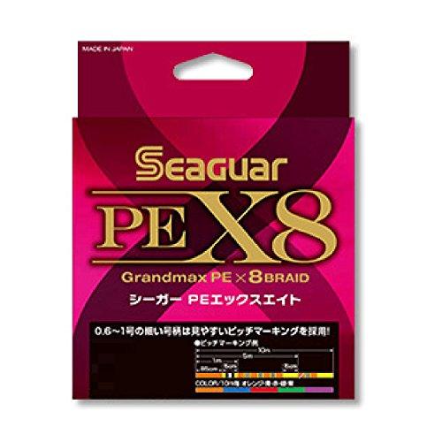 クレハ(KUREHA) PEライン シーガー PE X8 300m 3.0号 48lb(21.8㎏) 5色分け