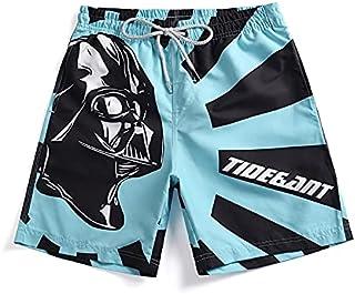 Men Casual 3D Printed Shorts Beach Pants High Quality (Size : XL)
