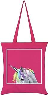 Inquisitive Creatures Rainbow Unicorn Tote Bag