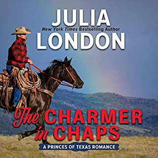The Charmer in Chaps audiobook cover art