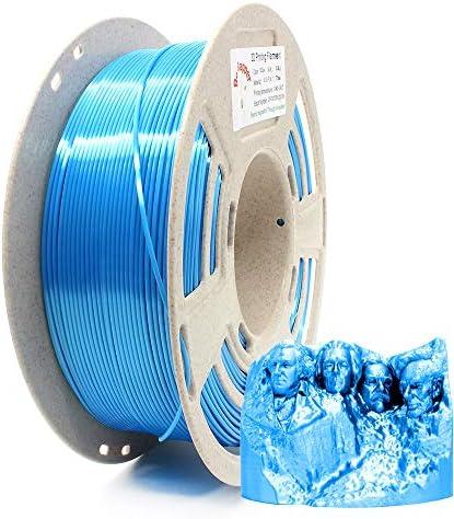 Reprapper Blue Silk PLA Filament for 3D Printer 3D Pen 1 75 mm 0 03 mm 2 2 lbs 1 kg product image