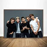 yitiantulong One Direction Poster Seide Poster Und Drucke