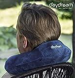 daydream: Reise-Nackenkissen mit Kopfstütze aus Memory Foam, (N-5363), Nackenhörnchen, Reisekissen, Nackenstützkissen
