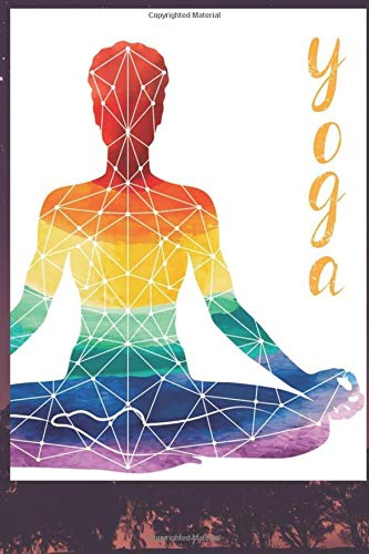 """Yoga Journal Notebook Daily Planner Diary 6""""x 9"""", 120 pages of logs for people who like to track: Yoga Journal Notebook: A Yoga Log Book / Yoga Tracker / Yoga Journal"""