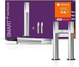 LEDVANCE Smart + LED-tuinlamp, ZigBee, Warm wit naar daglicht, Dimbaar, RGB-kleurwissel, 5 spots, Direct compatibel met Ec...