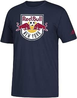 adidas New York Red Bulls Men's Team Primary Logo T-Shirt