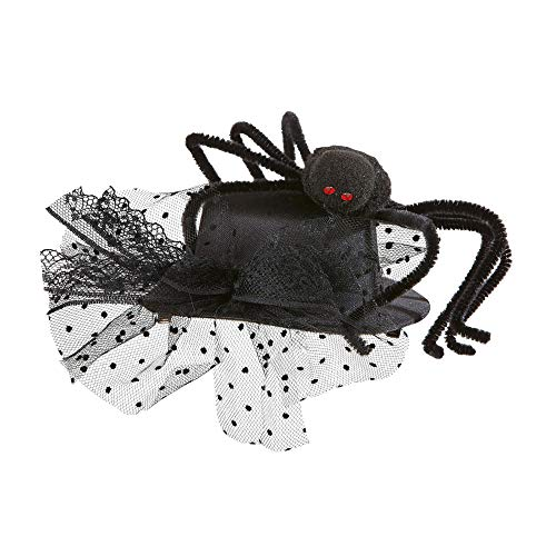 WIDMANN Spider Mini Top s Creatures & Insects Hats Caps & Headwear for Fancy Dress Costumes  Accessory