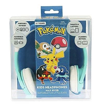 Pokemon PK0600 Alolan First Partner - Auriculares para niños de OTL
