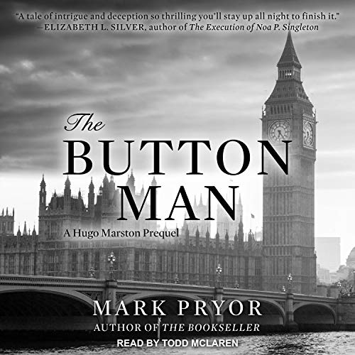 The Button Man Audiobook By Mark Pryor cover art
