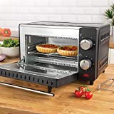 Quest Mini Ovens / Versatile Cooking / Adjustable Temperature / Timer Function / Accessories Included / Various Capacities (9L)
