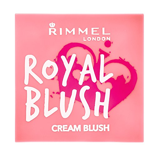 Rimmel London Royal Blush Colorete en crema Tono 3, 3.5 g