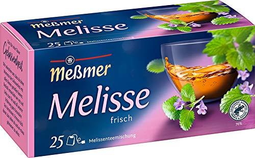 Meßmer Melissen-Mischung | 25 | Teebeutel | Vegan | Glutenfrei | Laktosefrei