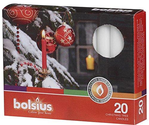 Bolsius Kerstboom Kaars 97/13 Wit