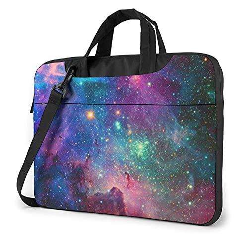 Funda Colorida para portátil Galaxy Bolso de Neopreno Lindo Elegante para portátil de 14 Pulgadas