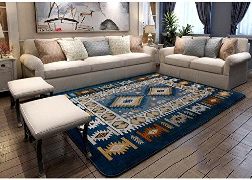 Zowred Seidenteppich Teppich Wohnzimmer Couchtisch Bettdecke Maschinenwaschbar Waschbar Moderner Teppich Hyococ