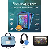 Fire HD 10 Kids Pro tablet, 10' HD (32GB, Black) with Kids Headset + Sleeve + Screen Protector