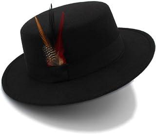 Chapeau Panama Outback en Feutre de Laine /écrasable pour Femmes Prix r/éduit Chapeau pour Saint-Patrick et P/âques LUCOG Pas Cher Chapeau Femme